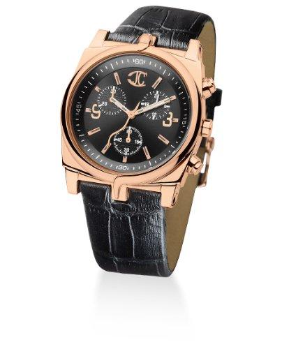 Just Cavalli 'Ular' - Reloj de Mujer de Cuarzo, Correa de Piel Color Negro