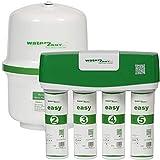 Water2buy Osmosis Inversa RO500 | Sistema de osmosis inversa de 5 etapas sin bomba