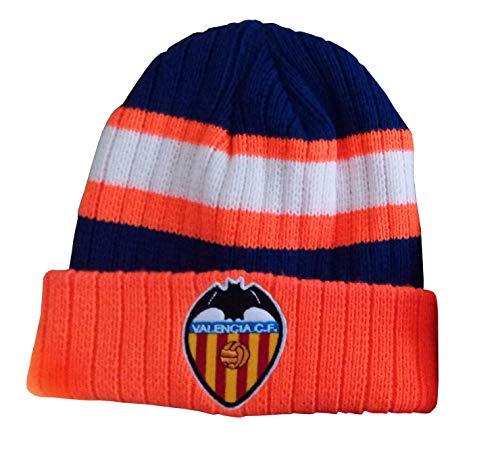 Valencia CF GORRVAL Gorro, Unisex Adulto, Naranja, Talla Unica