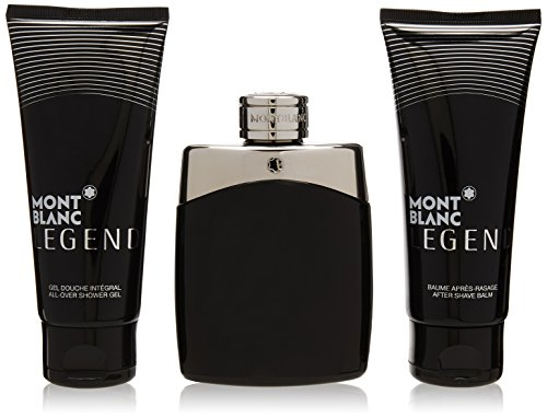 MONTBLANC Set Legend + Balsamo Dopobarba + Gel da barba, 300 ml