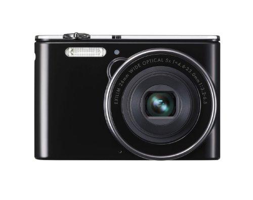 Casio Exilim EX-JE10 Digitalkamera (16,1 Megapixel, 6,9 cm (2,7 Zoll) Display, 5-fach opt. Zoom, HD-Videoaufnahme, 26mm Weitwinkeloptik) schwarz