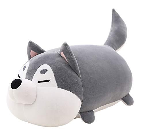 "Auspicious beginning Cute Plush Husky Dog, Plush Stuffed Animal Doll Toy Puppy Hugging Pillow Best Gift for Christmas, Thanksgiving, Birthday (15"")"