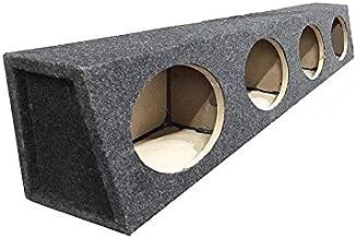 6x9 Speaker Box Enclosure 4 Four Hole MDF and Carpet Construction