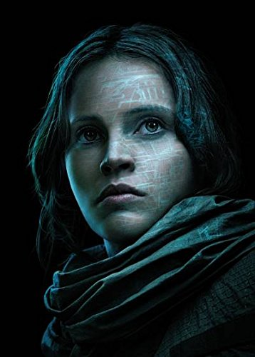 Rogue ONE : A Star Wars Story – Jyn Erso – U.S Textless Movie Wall Poster Print - 43cm x 61cm / 17 Inches x 24 Inches A2