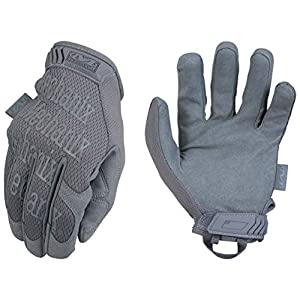 Mechanix Wear – Original Wolf Grey Tactical Gloves (Large, Grey)