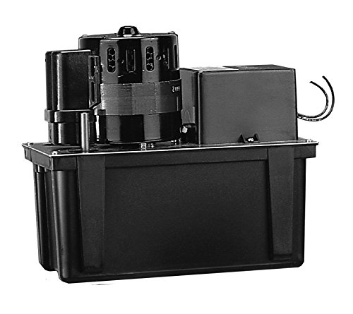 Little Giant VCL-45ULS VC Series Automatic Condensate Removal 1/5 HP Pump with Safety Switch