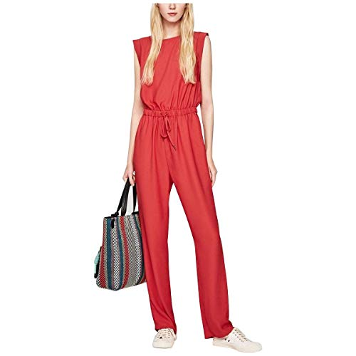 Pepe Jeans Damen Zulia Jumpsuit, Rot (Francois Red 240), Large