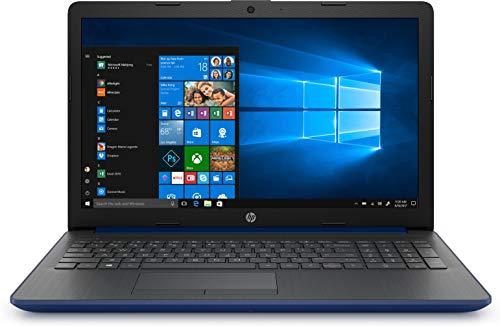 "HP 15-da0181ns- Ordenador portátil de 15.6"" HD (Intel Celeron N4000, 8 GB de RAM, 256GB SDD, Intel UHD Graphics, Windows 10) Azul Lumiere - teclado QWERTY Español"