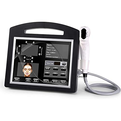 4D HIFU Face Lifting Machine High Intensity Focused Ultrasound Skin Tightening System Weight Loss Beauty Equipment with 5 Cartridges 12 Lines for Salon Home Use
