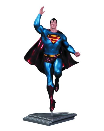 Superman The Man Of Steel statuette Frank Quitely 17 cm