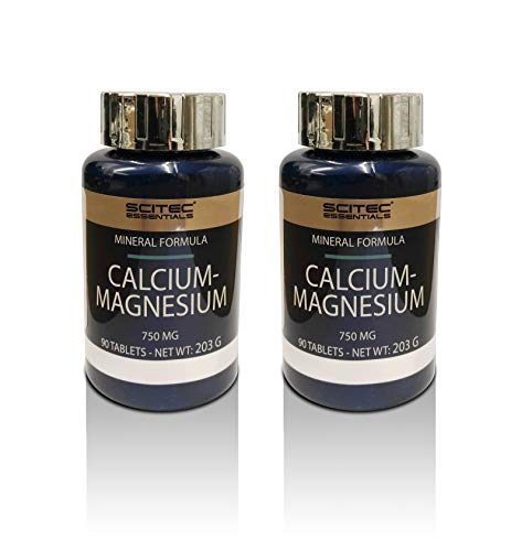 Scitec Nutrition 2 x Calcium-Magnesium 90 Tabletten (2erPack = 180 Tabletten)