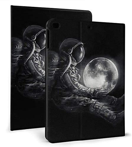 Embrace The Moon PU Leather Smart Case Auto Sleep/Wake Feature for iPad Mini 4/5 7.9'& iPad Air 1/2 9.7' Case