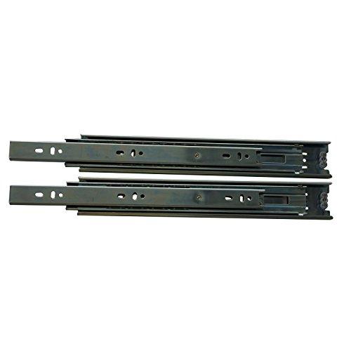 SECOTEC  Kugelführung 550 mm | Schubladen-Auszug | Vollauszug | 1 Paar