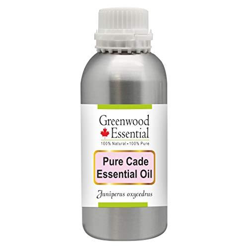 Greenwood Essential Cade puro aceite esencial (Juniperus oxycedrus) 100% de vapor natural de Grado Terapéutico destilada 1250ml (42.2 oz)