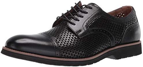 STACY ADAMS Mens Ellery Cap Toe Oxford Black 12 product image