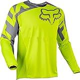 YMWL Hombre Mountain Bike Motocross Jersey Camiseta de Manga Larga Traje de Descenso al Aire Libre a Prueba de Viento Transpirable y Que Absorbe El Sudor Secado Rápido MTB Maillots