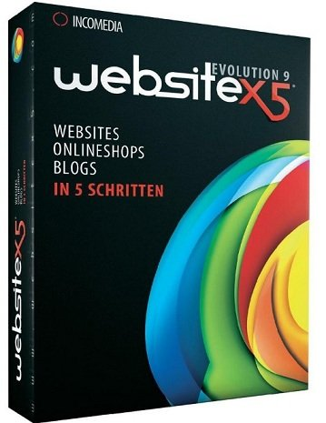 Website X5 Evolution 9 - 1User