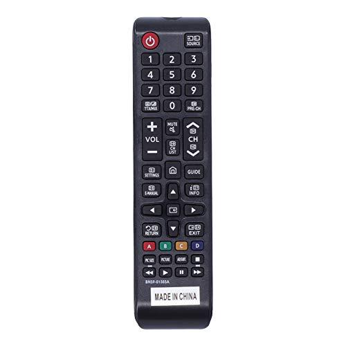 cigemay Alternativa al Control Remoto de TV, Control Remoto de Repuesto BN59-01303A, Resistente y Duradero, transmisión remota, Adecuado para Samsung E43NU7170 Smart 4K 3D LCD/LED/TV