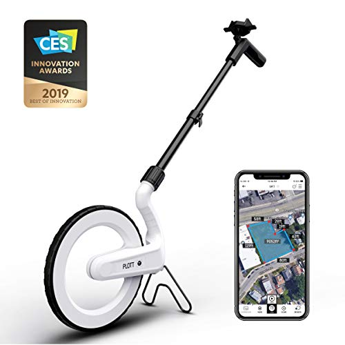 CARTA: Digital Mapping Wheel; Electronic Distance Measuring and Estimating; Feet, Inches, Yards, Meters