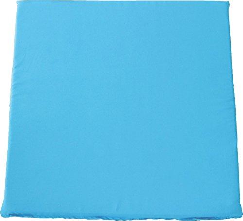 FEC Sitzkissen 4er Pack, Polyester, blau, 36 x 36 x 2 cm, 4260210870039