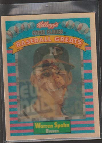 Warren Spahn (Baseball Card) 1991 Sportflics Kellogg's Corn Flakes Baseball Greats - [Base] #12
