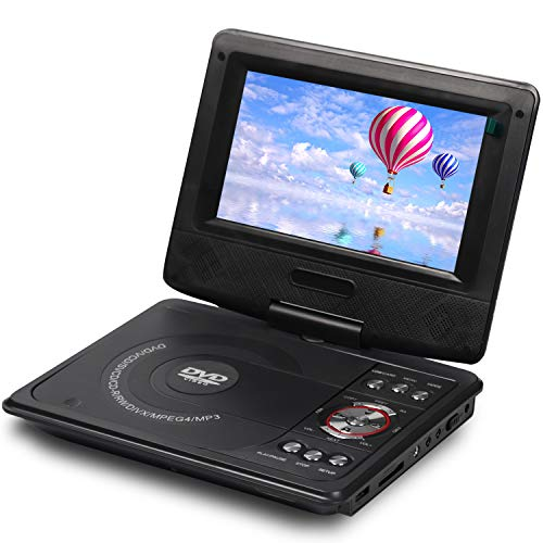 iBELL PD8670 Portable DVD Player with Inbuilt USB, SD/MMC, Multiple OSD,7 inch