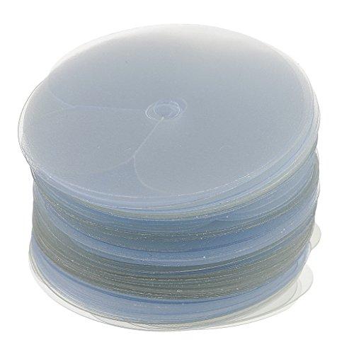 SM SunniMix Modèles de Boucliers de Protection Thermique 100pcs pour L'application D'extensions de Cheveux