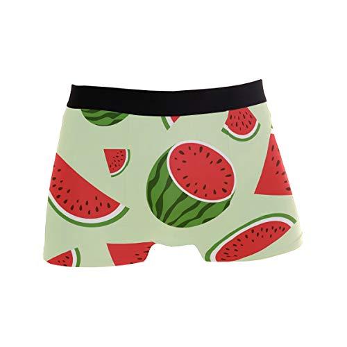 Water Melon Rot Bequeme Herren Boxershorts Multisize Soft Underwear S Gr. L, Mehrfarbig