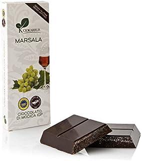 チョカッルーア モディカ チョコレート マルサラ ワイン (100g) [イタリア シチリア] | CIOKARRUA MODICA CHOCOLATE IGP | ギフト プレゼント カカオ50% ヴィーガン 板チョコ スイーツ ポリフェノール