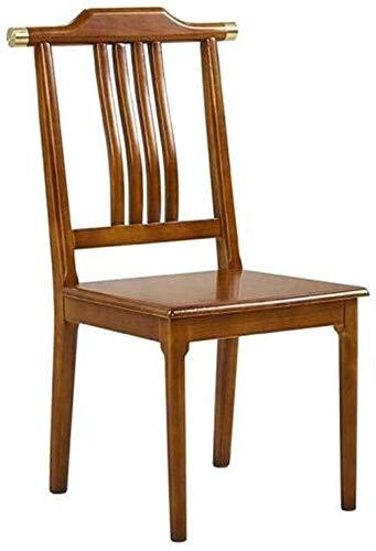 BLLXMX Sedia Dining Chair Casa Schienale Desk Presidenza di Legno Presidenza Trucco Soggiorno caffè Sedia di Modo Sedia da Pranzo