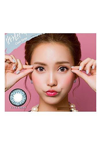 Kontaktlinsen de Farbe Fantaisie Jährlichen gültig 1 Jahr ohne Stärke NEU grau für die Augen dunkle auch Colors of the Wind cool gray(cow43)
