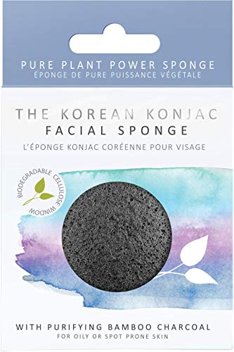 The Konjac Sponge Co Facial Puff Sponge Cleansing and Exfoliating with...