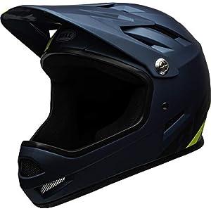 BELL Sanction Adult Mountain Bike Helmet - Agility Matte Blue/Hi-Viz (2021), Medium (55-57 cm)