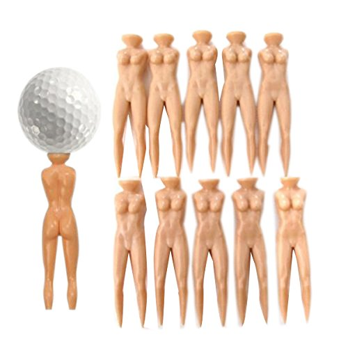 PIXNOR nue-lady thé vert golf pitch fork-pitch alternativ 70 mm (couleur chair)
