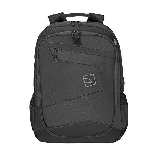 """Tucano - Mochila Lato Backpack para portátiles de hasta 17"""" y MacBook Pro 15"""" y 17. Negro"""
