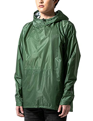 DLITE(ディライト) レインウェア レインジャケット アノラックタイプ [ メンズ レディース / 全4カラー:Khaki/Lサイズ ] ユニセックス 雨具 防水 撥水 透湿 レインコート