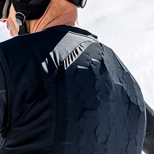 Dainese Herren Ski Protektor New Flexagon Lite Man, Stretch-Limo, XL, 4876006_Y41_XL