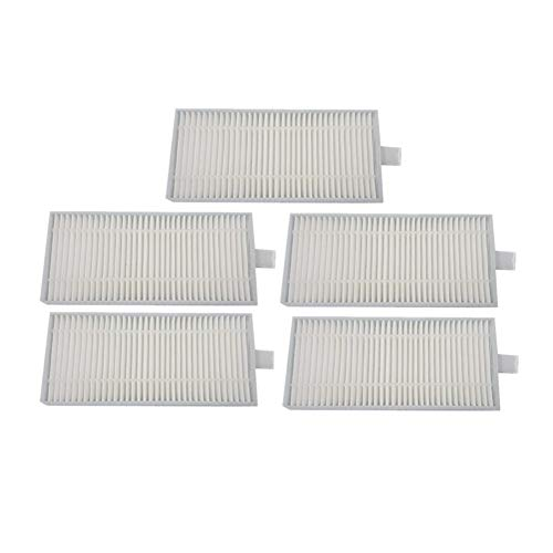 Affordable furong 5pcs/lot Robot Vacuum Cleaner HEPA Filter Fit for Panda Iplus S5 Robotic Vacuum Cl...
