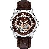 Bulova Men's Brown 96A120 BVA Series Dual Aperture Dial Watch