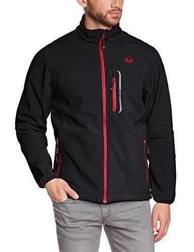Ultrasport Stan - Chaqueta para hombre,, color negro / rojo, talla M