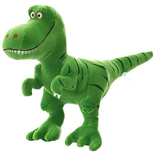Plüschtier Tyrannosaurus Rex, Umarmen Sie Kuscheltier Weich Plüsch Dinosaurier Spielzeug Kinderspielzeug Plüschpuppe Cartoon Kissen Weihnachts Geschenk Hauptdekoration (A)