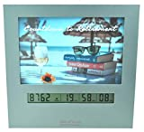 Large Display Retirement Countdown Clock and 4x6 Picture Frame, Countdown Retirement Clocks are Fun Gifts for Women Change Photo & Set Day Timer for Vacation Wedding Christmas Baby Birthday Halloween