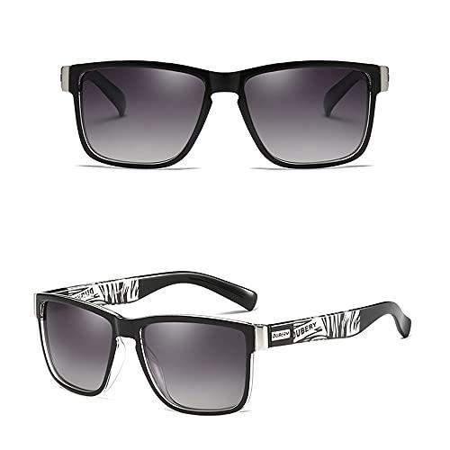 24 JOYAS Gafas de Sol Deporte Playa Polarizadas con Funda y Gamuza para Mujer y Hombre (Negro)
