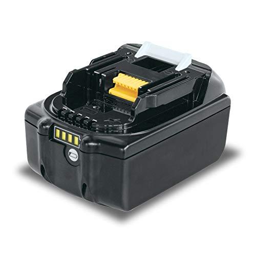 ARyee 18V 5.0A BL1830 Batteria per utensili a batteria compatibile con Makita LXT400 BL1830 BL1835 BL1840 BL1850 BL1850B BL1860 BL1860B BCS550 BCF201
