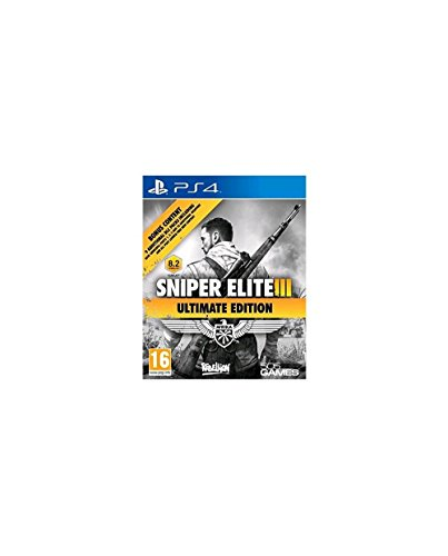 Sniper Elite III Ultimate Edition & 9 DLC Packs PS4 - PlayStation 4