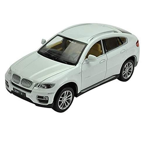 Metal Modelo Auto 1:32 para X6 SUV Coupe, Vehículos De Juguete De Simulación, Modelo De Aleación, Colección De Juguetes para Niños, Coche Todoterreno, Regalo para Niños (Color : 2)