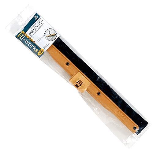アズマ デッキブラシ 縦横水切り50スペア 水切り幅:約47cm スッキリ水切り。縦横水切りワイパーの取り替え用(金具付)。 HW-SPA1610