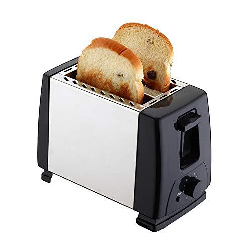 CPURSUE 2 tostadoras de Acero Inoxidable, Horno, la Mejor tostadora, 6 ajustes de Temperatura, 750 W, Plateado