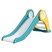 折りたたみすべり台 室内用滑り台 子供用スライダー たためるすべりだい こどもプレゼント コンパクト 組立 すべり台,グリーン