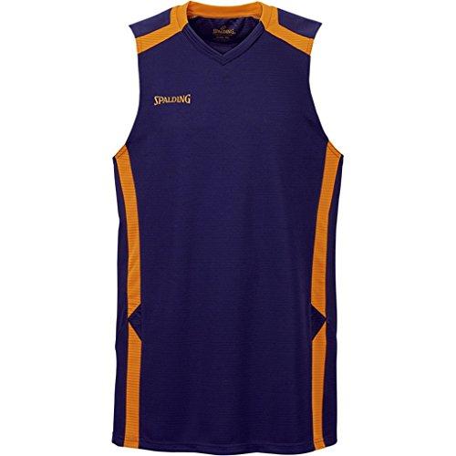 Spalding Offense Tank Top Basketball Trikot marine-orange marine/fluo orange, L